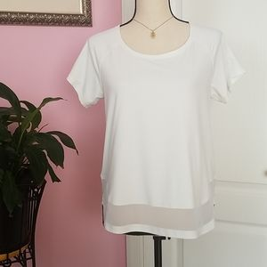Lululemon scoop neck tee M